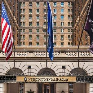 范例日期1月2日 - 1月3日 纽约巴克莱洲际大酒店