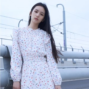 5折起 周也同款£124Maje官网 夏促茶歇裙专场 优雅清凉今年超火时尚单品!