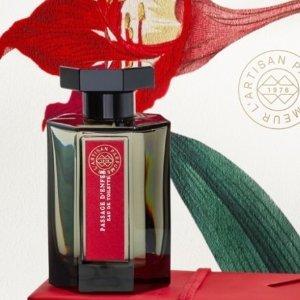 送新品香水10ml+2小样!L'Artisan Parfumeur 阿蒂仙4月大促!热门香水£20起