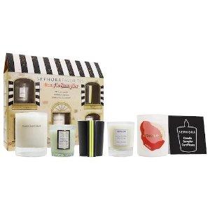 Sephora价值$80 内含正装兑换券香氛蜡烛套装
