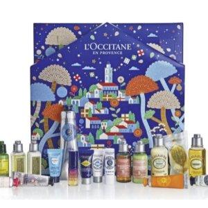最低£55!送£55大礼包L'occitane 欧舒丹圣诞日历预上市 4款绝美设计 同步上市!