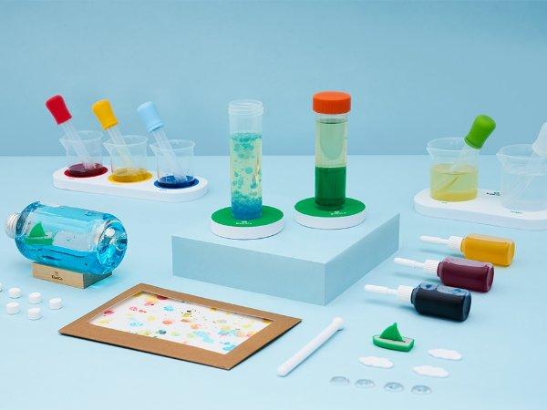 化学小实验3件套,适合年龄 5+