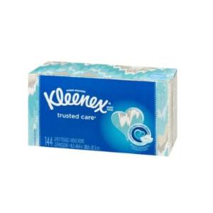 $2.75(原价$3.49)Kleenex 柔软面巾纸144抽 吸水性好、有韧性 好柔软