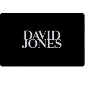 8折 24个月有效期David Jones 电子礼卡热卖 $20/$50/$100都有
