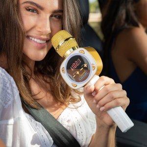 """$44+包邮 自驾必备一路嗨翻黑五独家:Carpool Karaoke """"拼车K歌秀"""" 授权 车载卡拉OK麦克风"""