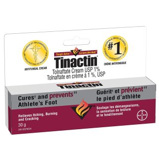 $12.32 (原价$14.97)Tinactin 抗真菌脚气膏 30g  治愈瘙痒困扰