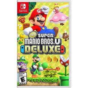 $44.99 (原价$59.99)新超级马里奥兄弟U 豪华版 - Nintendo Switch