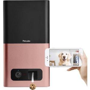 Petcube宠物互动摄像头智能零食投喂器 粉色款