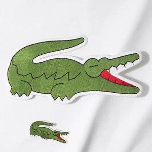 低至5折 萌萌小鳄鱼get起来Lacoste 官网年终大促精选美衣美鞋及包包热卖