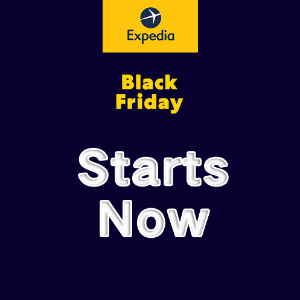 95% Off Hotels & Up to $200 CouponExpedia Black Friday / Cyber Monday Deals Preview