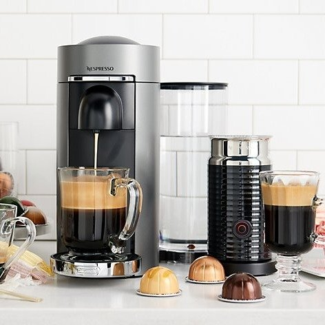 VertuoPlus 胶囊咖啡机+奶泡机