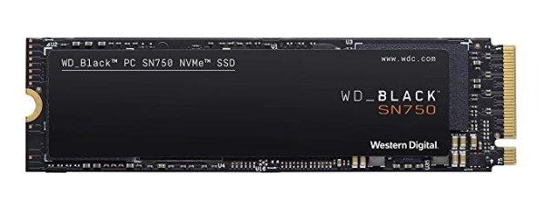 WD BLACK SN750 500GB 黑盘