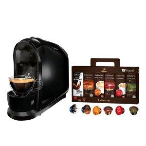 Tchibo Cafissimo pure 胶囊咖啡机+60个咖啡胶囊