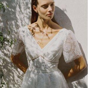 5折起+额外8折 €215收白色蕾丝连衣裙Self Portrait 大促专场 明星都爱的仙女裙折上折