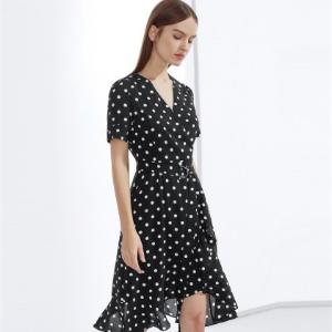 收夏季清凉连衣裙精选朗姿女装全场大促 低至1折起