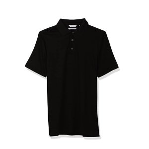 Ending Soon: Calvin Klein Men's Liquid Touch Polo Solid with UV-Protection