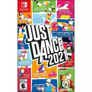 《舞力全开2021》Nintendo Switch 实体版