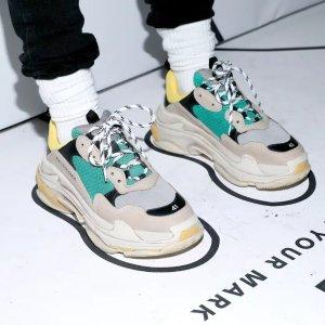 6折起 £435收Triple S老爹鞋大牌运动鞋 2021打折汇总 | Gucci、巴黎世家、麦昆、Yeezy
