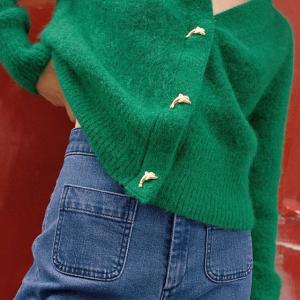 2.7折起 £12收泡泡袖上衣& Other Stories  绿色系超清新专场 氧气系少女必备
