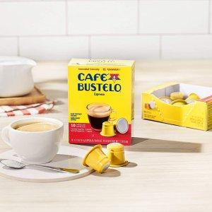 每颗$0.48Café Bustelo 深焙浓缩咖啡胶囊 40颗装