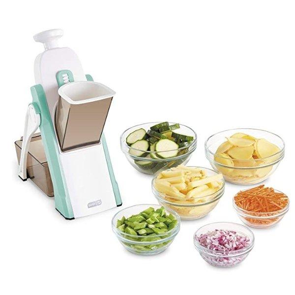 蔬菜切片器 薄荷绿