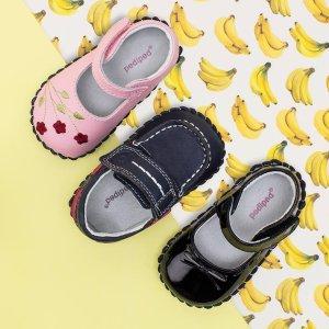 折后$15 - $22.5 原价高达$70最后一天:pediped OUTLET 童鞋三日热卖,凉鞋、靴子都有