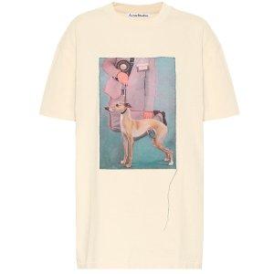 Acne Studios凑单$900立减$150狗狗T恤
