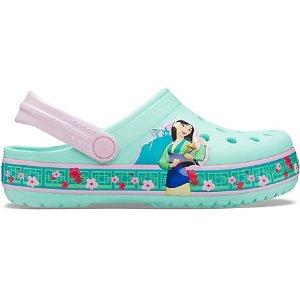 Crocs大童码全木兰洞洞鞋