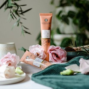 SANOFLORE高保湿,适合中性至混合型肌肤玫瑰保湿霜 40ml
