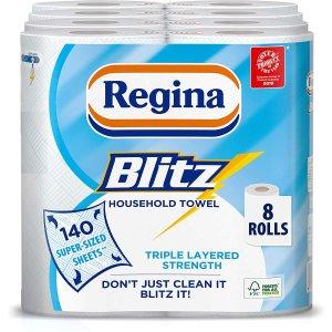 低至6.6折起 厨房用纸补货Regina 纸类用品好价热卖 收厨房用纸、卫生纸好时机