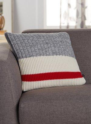 Wool-sock stripe cushion 45 x 45 cm   Simons Maison
