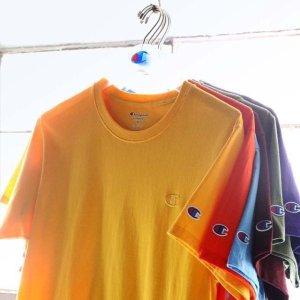 低至2.5折+额外6折+无门槛免邮白菜价:Champion官网 T恤,卫衣,短裤,运动服等促销