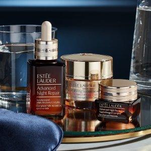 低至8折+买$45送$160好礼最后一天:Estee Lauder 全场美妆护肤促销 8折收新款红石榴套装