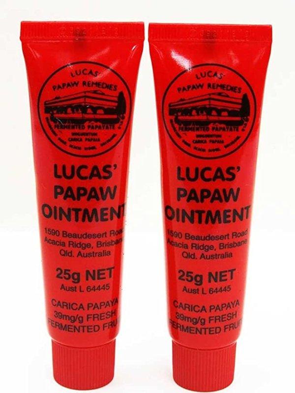 Lucas 万用木瓜膏 2支装热卖