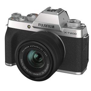 8.5折起 新手上路必入X-A7Fujifilm X系列无反数码相机专场 好价收XT200/XT4