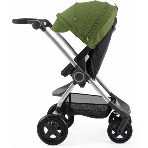StokkeThe Lowest PriceScoot Complete Stroller - Black/Green