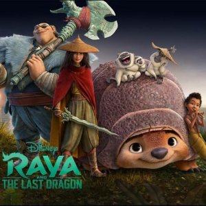Disney+上线啦迪士尼原创电影《寻龙传说》 女战士RAYA带你开启奇幻冒险