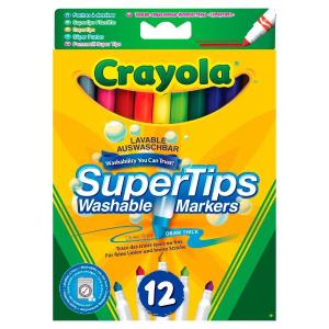 现价£2.25(原价£3.99)Crayola 可水洗12支彩笔