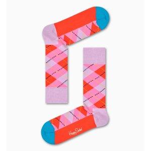 Happy Socks菱纹袜