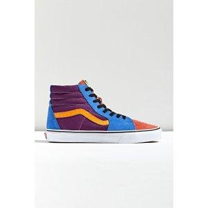 Vans高帮拼色运动鞋