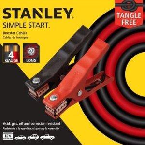 Stanley 4号规格 6米长汽车电瓶急救线