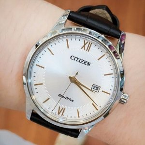 Lowest price Citizen Eco-Drive Men's AW1236-03A Stainless Steel Watch