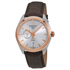 Extra $40 OffTISSOT PR100 Silver Dial Men's Watches