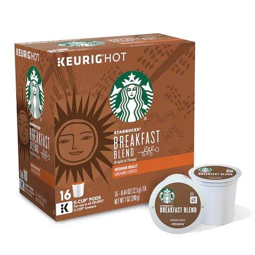 Starbucks 早餐咖啡胶囊 16颗装
