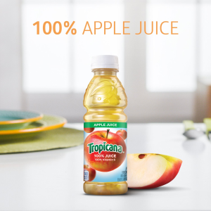 $13.28 + Free ShippingTropicana Apple Juice, 10 oz., 24 Count