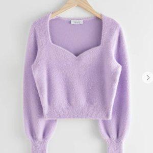 5折起+叠8折 £20就收泡泡袖毛衣上新:& Other Stories 毛衣、针织衫 冬季大促 当季温柔法风