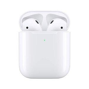带无线充电盒Apple AirPods