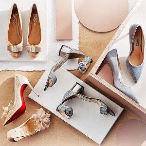 全场£349 收JC渐变亮片Rue La La 大牌美鞋闪购 收JC、YSL、菲拉格慕、Miu Miu