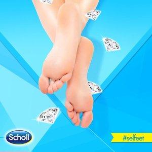 低至7.7折 €11.49收3双Scholl 足部护理第一品牌 足膜热卖 让你的jiojio光滑细嫩