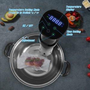 $57.99(原价$107.99)史低价:VPCOK 真空低温烹饪棒 恒温烹煮 做出完美牛排